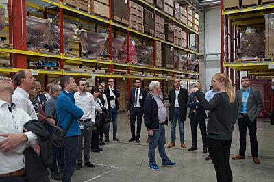 Die Wirtschaftsregion Bamberg-Forchheim hat am Tag der Logistik 2019 gemeinsam mit dem Logistikdienstleister Simon Hegele zur Besichtigung eingeladen.